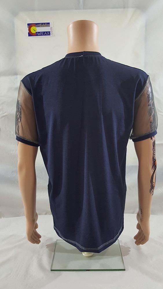 420 TatWear Short Sleeved Men's Back