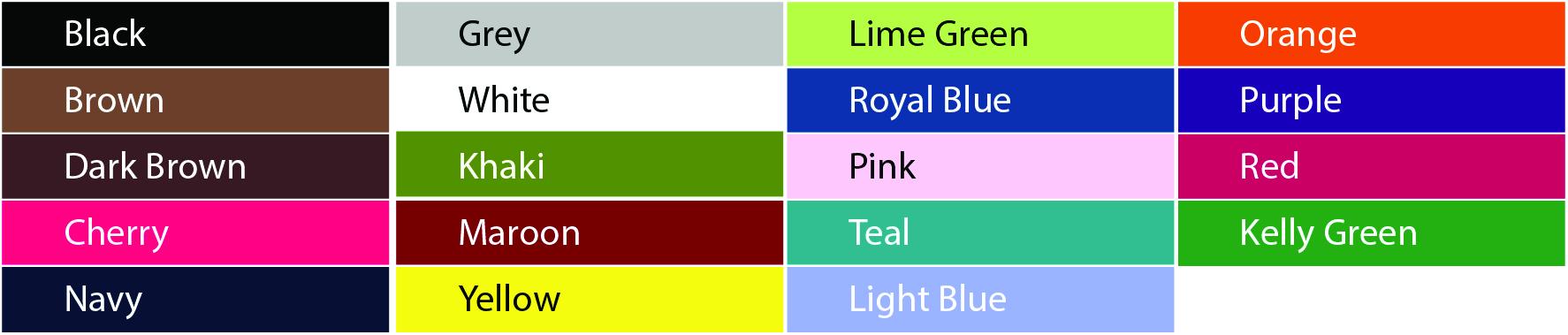 420 Shirt Colors
