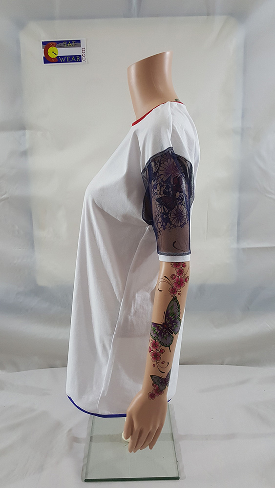 420 TatWear 3/4 Sleeve Women's Left